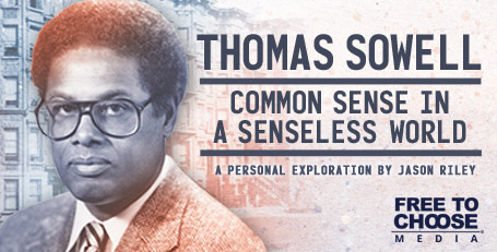 College Press Releases Thomas Sowell: Common Sense in a Senseless World Streaming Today