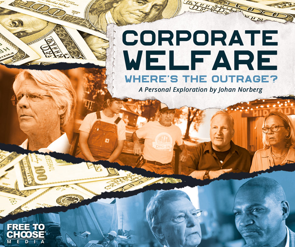 COMING SOON! TWO FREE SCREENINGS OF Corporate Welfare: Where's the Outrage?