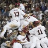 South Carolina repeats as College World Series champions