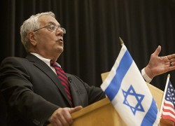 Barney Frank gives speech on relationship between U.S. and Israel