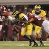 Alabama rolls over Michigan 41-14