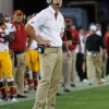 USC's Kiffin walks out of interview after one question