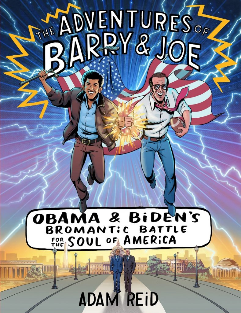 THE ADVENTURES OF BARRY AND JOE by Adam Reid